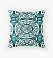 Turquoise Leaf Fashion Design Floor Pillow
