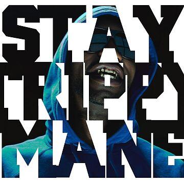 Juicy J - Stay Trippy Mane by claytrewp101