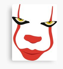 Pennywise IT Canvas Print
