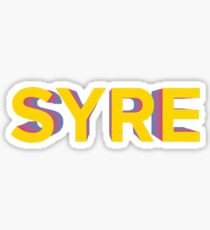 Jaden Smith - Syre (Text Only) Sticker