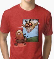 Run, Diglett, Run! Tri-blend T-Shirt