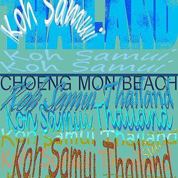 Koh Samui Thailand by TeaseTees