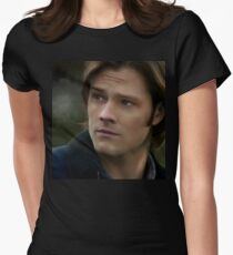 Sam Winchester Women's Fitted T-Shirt