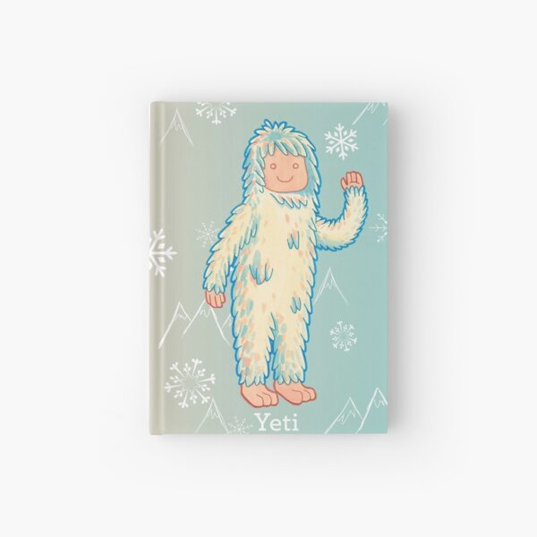 Yeti - Cute Cryptid Hardcover Journal