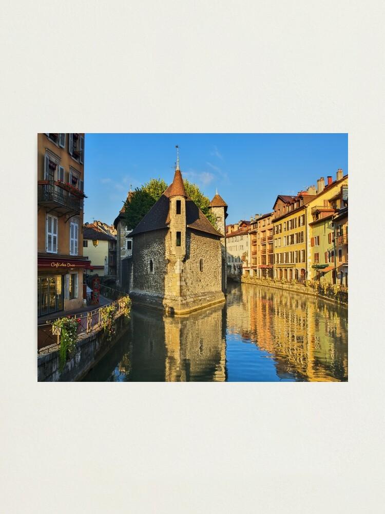 Alternate view of Annecy - Palais de l'Isle Photographic Print