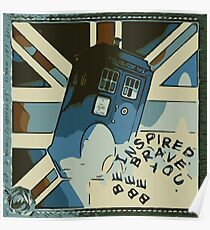 Tardis - Be You Poster