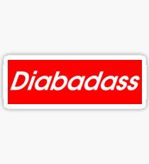 DIABADASS | DIABETES AWARENESS Sticker