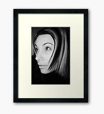 streaks Framed Print