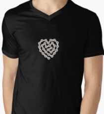 Love Biking Men's V-Neck T-Shirt