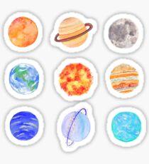 Pegatina Planetas