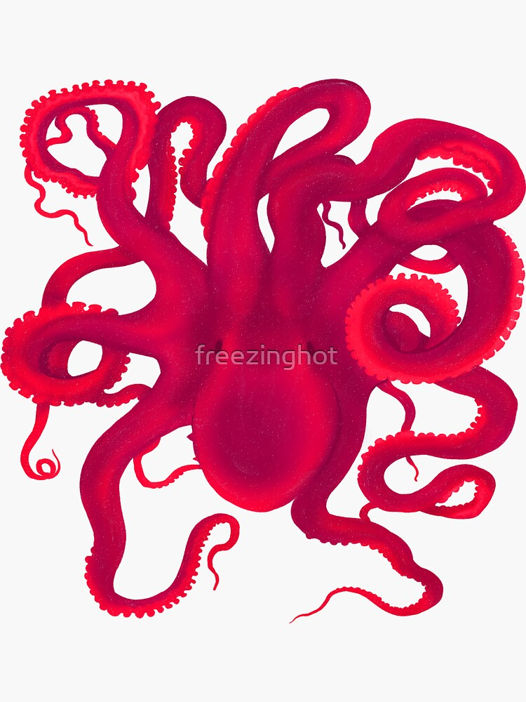 Pink Octopus  by freezinghot