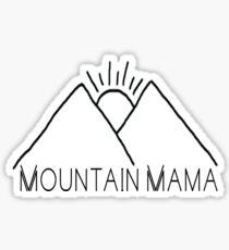 Mountain Mama Sticker