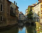 Annecy - The old city along the Thiou river by Patrick Morand