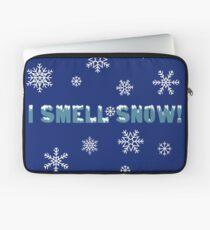 I smell snow! Laptop Sleeve