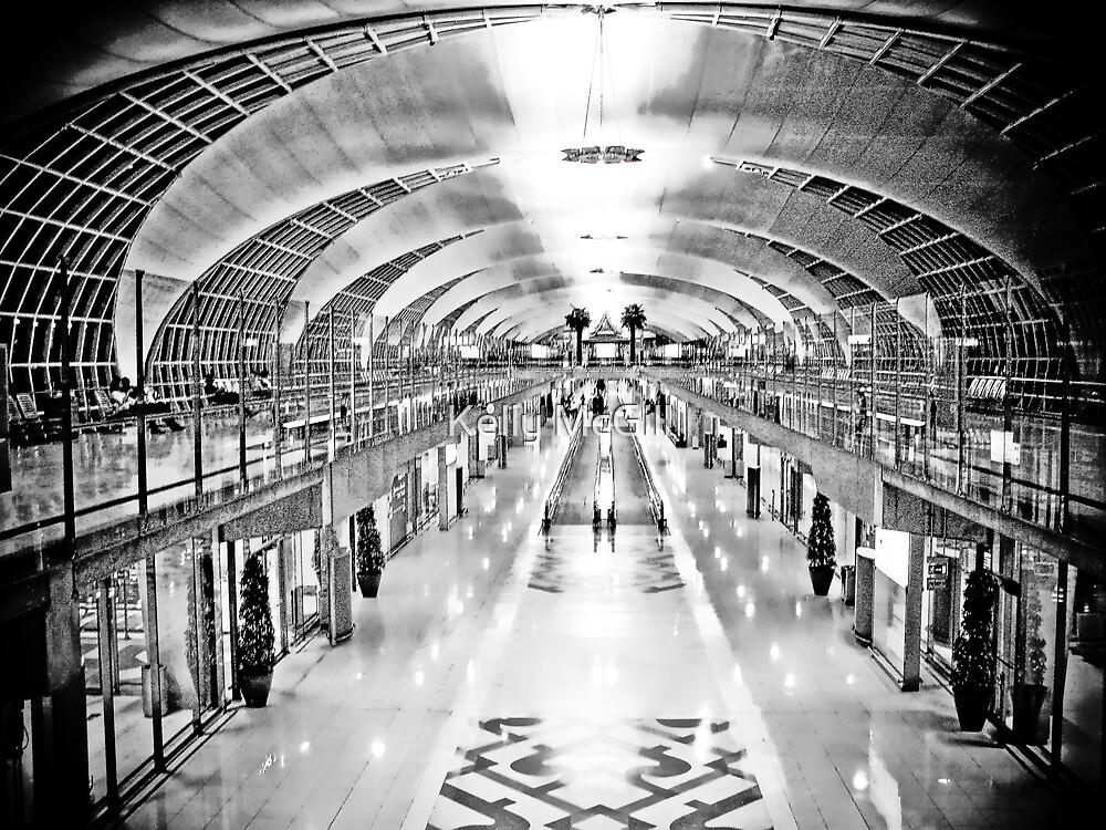 Suvarnabhumi Airport, Bangkok by Kelly McGill