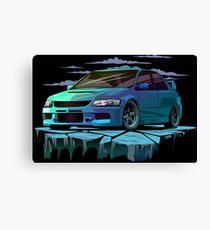 Mitsubishi Lancer Evolution 9 Canvas Print
