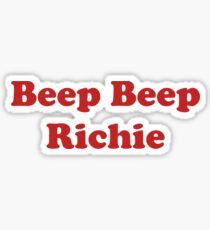 Beep Beep Richie Sticker