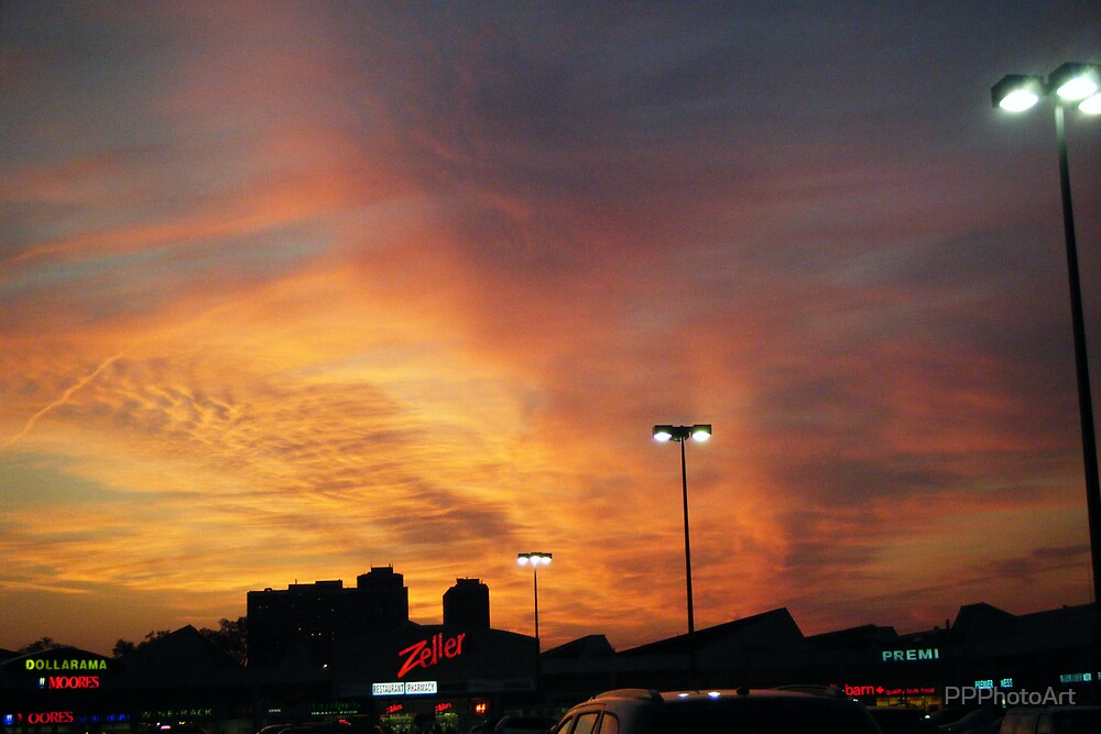 Sunset at the Mall by PPPhotoArt