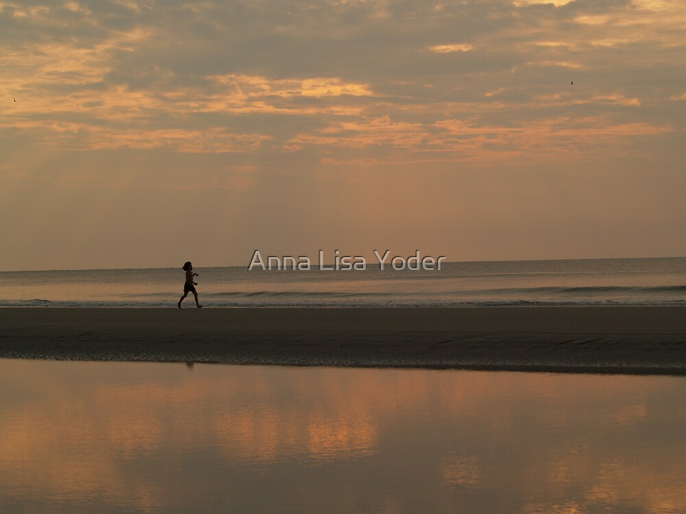 Little Girl and the Dawn by Anna Lisa Yoder