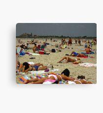 Beach Bums Canvas Print