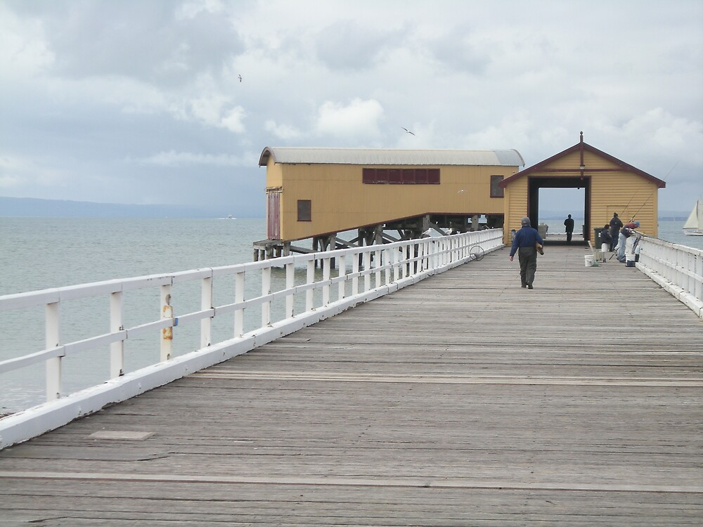 Queenscliff Jetty,VIC by mariajd
