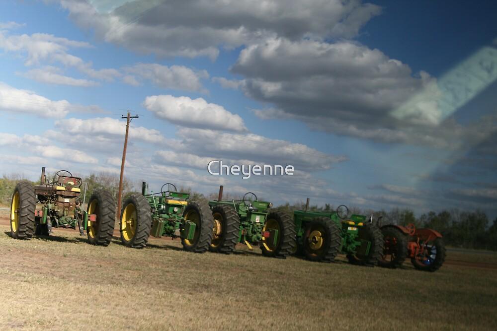 Tractor Gossip by Cheyenne
