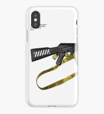 OFF-WHITE AK/ CASE/ LAPTOP CASES/ STICKERS iPhone X Case