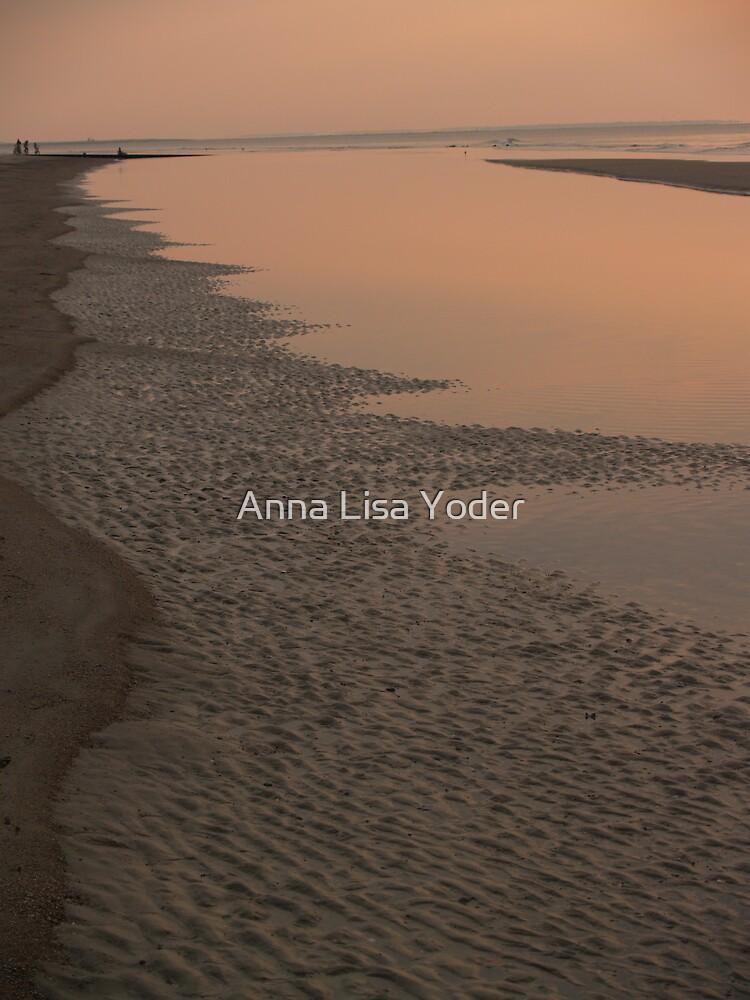 A Long Strand at Hunting Island by Anna Lisa Yoder