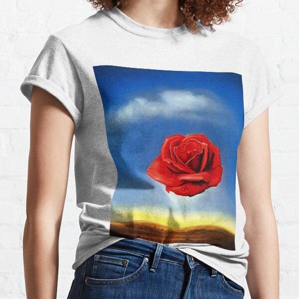 The Meditative Rose-Salvador Dali Classic T-Shirt