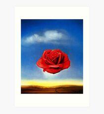 The Meditative Rose-Salvador Dali Art Print