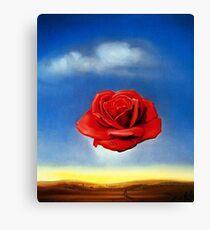 The Meditative Rose-Salvador Dali Canvas Print