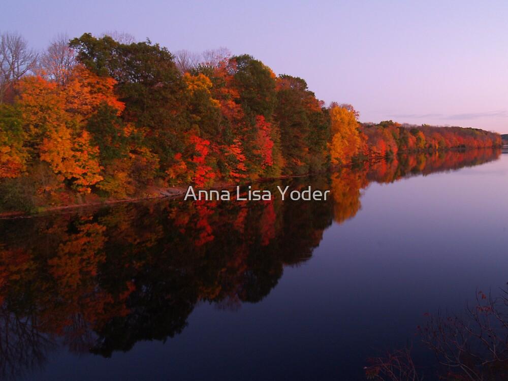 Lake Nockamixon Autumn by Anna Lisa Yoder