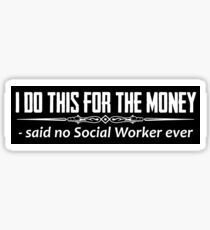 Social Worker Gifts Sticker