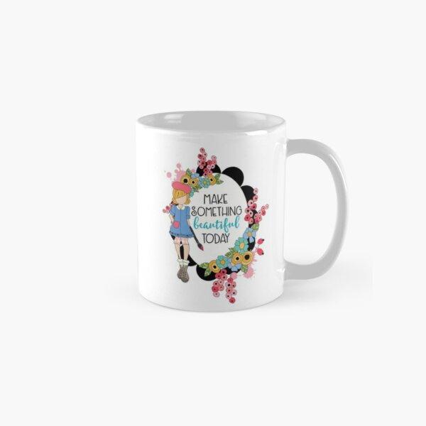 Make Something Beautiful Classic Mug
