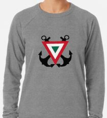 Roundel of the Mexican Naval Aviation Lightweight Sweatshirt