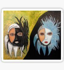 Masquerade Sticker
