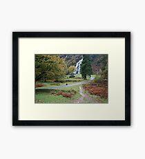 Powerscourt waterfall Framed Print