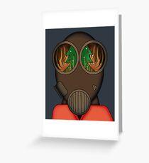 Pyro Hates Early Xmas Decoration Greeting Card
