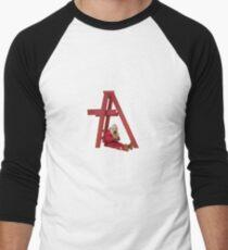 don't smile at me Men's Baseball ¾ T-Shirt
