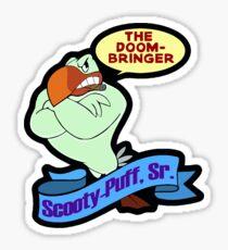 Scooty-puff sr Sticker