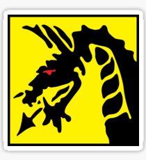 Dragon Symbol.  Sticker