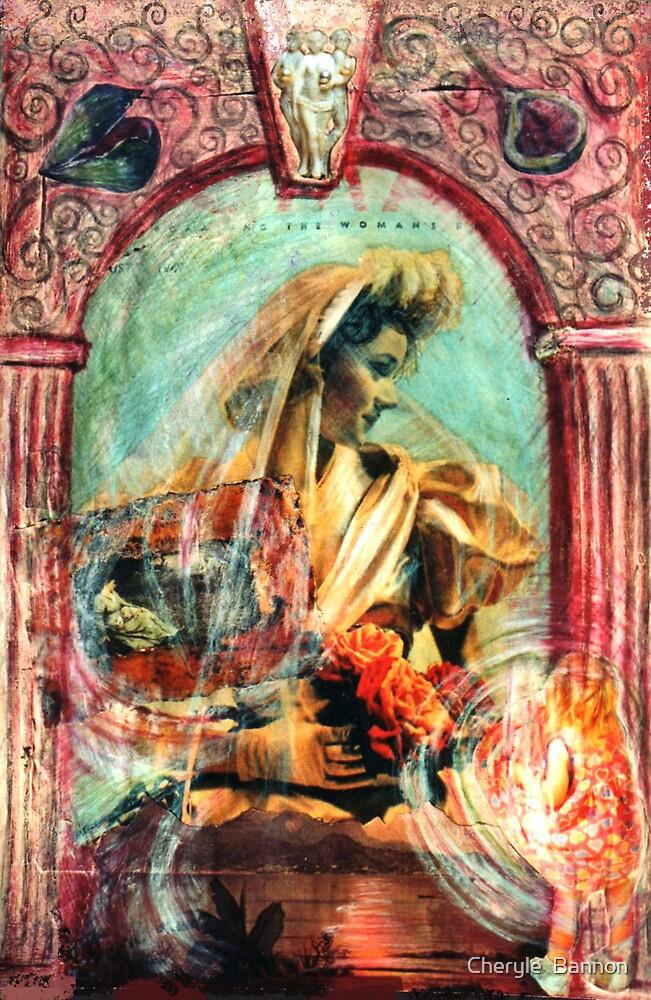 The bride. by Cheryle  Bannon
