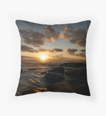 daybreak Yaroomba Throw Pillow