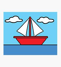 The Simpsons Sailboat Photographic Print