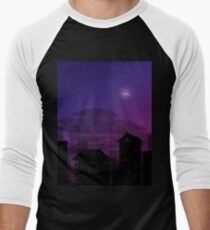 City in the fog Men's Baseball ¾ T-Shirt
