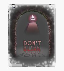 Illuminati Don't Blink iPad Case/Skin