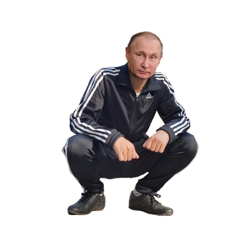 squatting gopnik