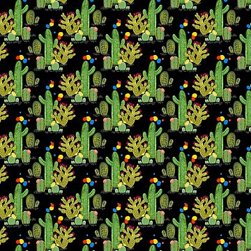 Wonder Cacti by PaintMeBright by paintmebright