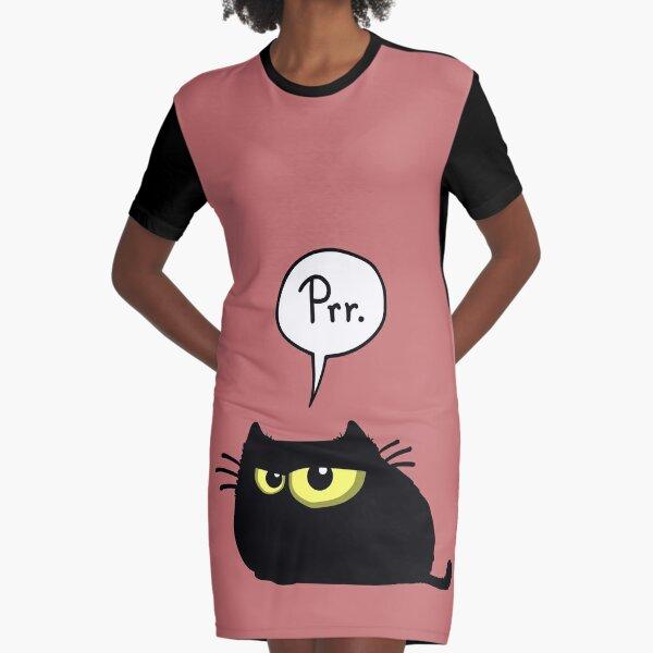 Prr. Graphic T-Shirt Dress