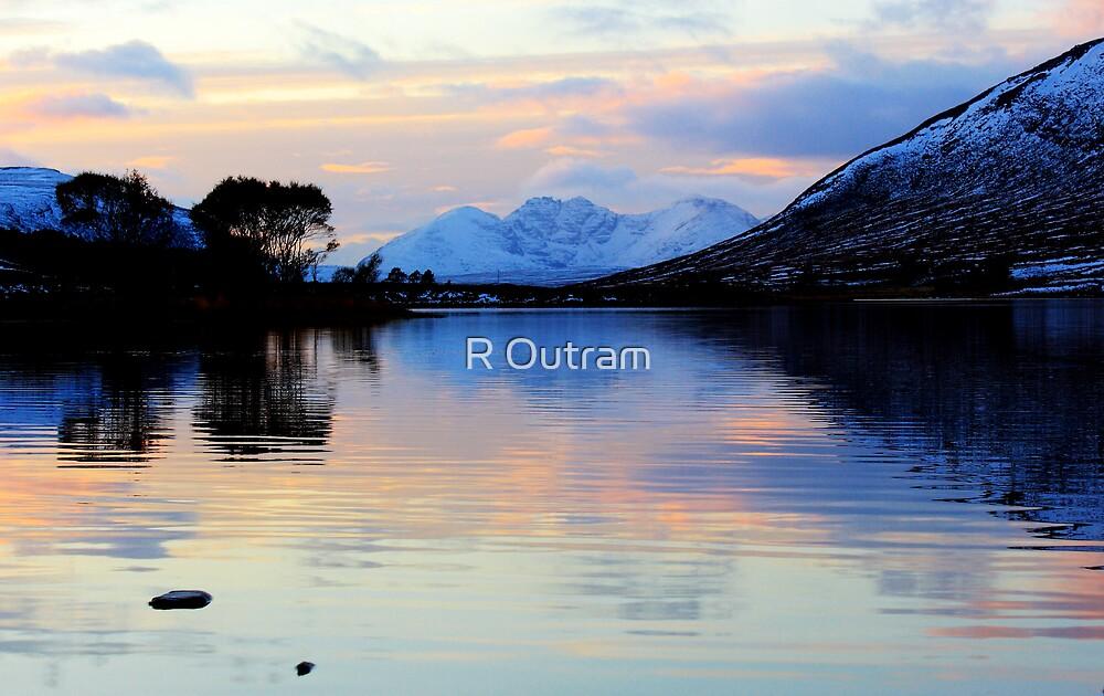 An Teallach Evening by R Outram
